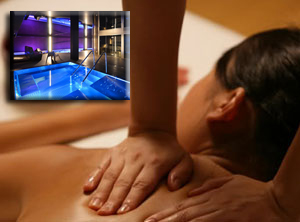 RELAXING MASSAGE WITH ACCESS TO WATERS AREA